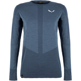 SALEWA Zebru Responsive LS Tee Women, dark denim